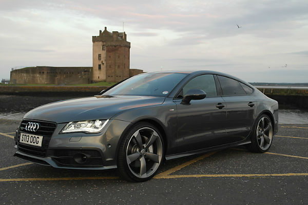 Audi A7 Black Optic Package