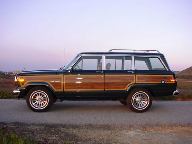 2017 Jeep Grand Wagoneer Woody