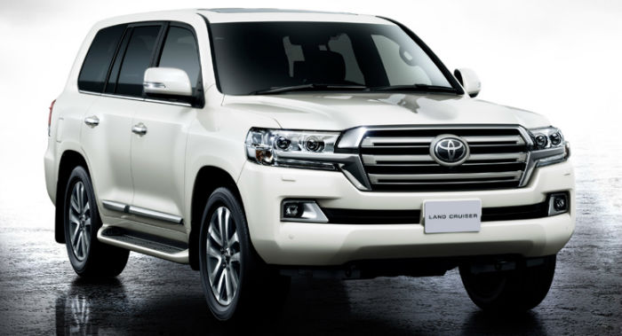 2017 Toyota Land Cruiser 200