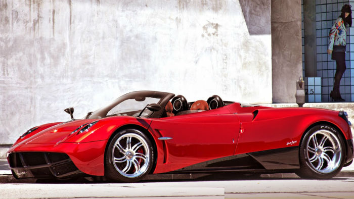 2017 Pagani Huayra Roadster Model