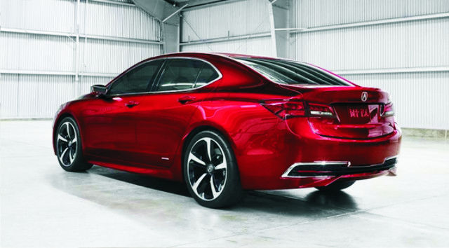 2017 Acura TLX Redesign