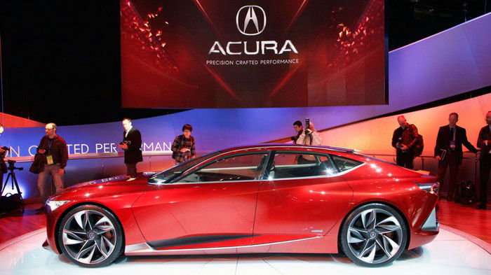Acura Precision Crafted Model