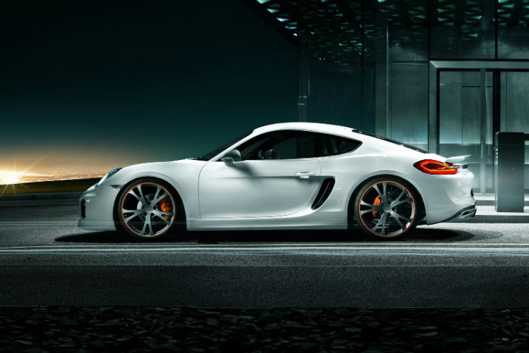 2on 2017 Porsche 718 Cayman Engine