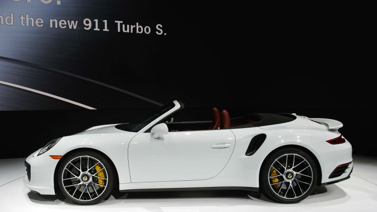 2017 Porsche 911 Turbo S Convertible
