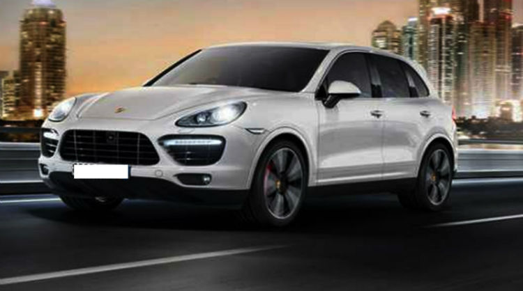 2017 Porsche Cayenne Turbo S Model