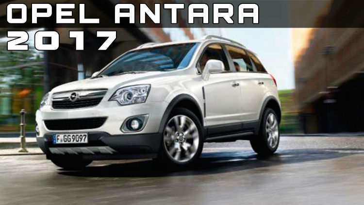 2017 Opel Antara Second-Hand