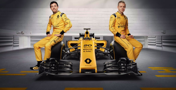 2017 Renault F1 Drivers