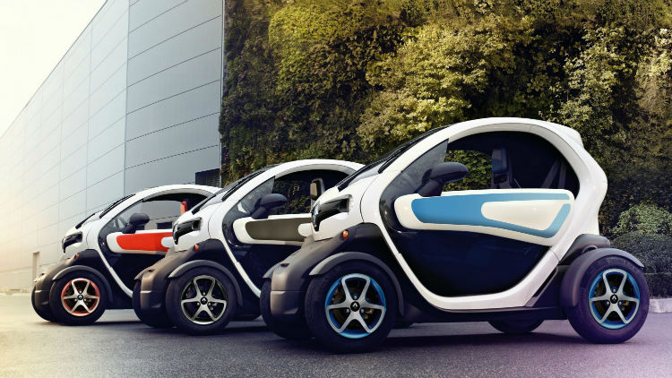 2017 Renault Twizy Colors