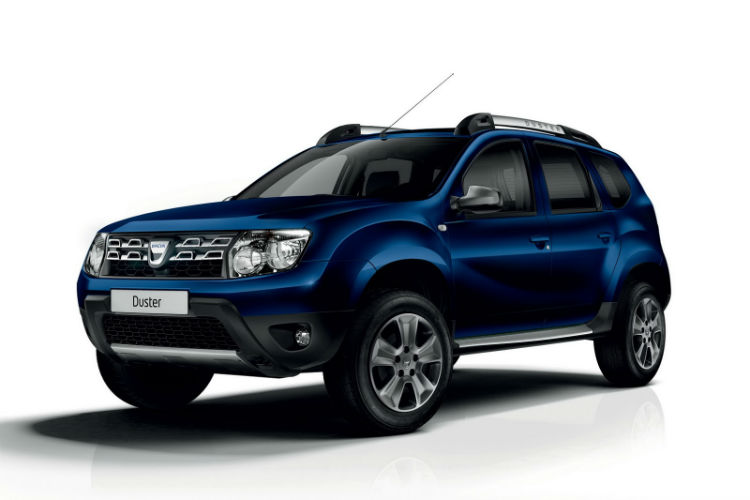 Renault Duster 2015 Blue Automatic