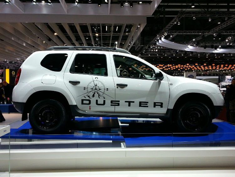 Renault Duster Adventure Edition White