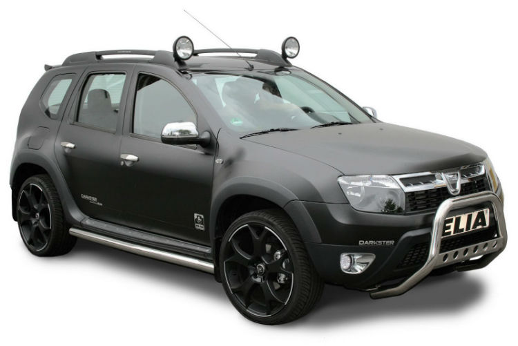 Renault Duster Black Modified