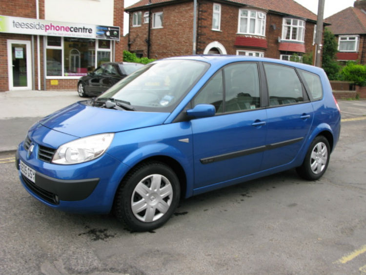 Renault Scenic 2005 Blue 5-Seater