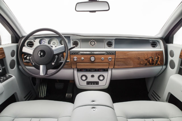 2016 Rolls Royce Phantom Interior