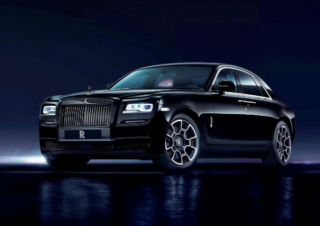 2017 Rolls-Royce Phantom Black