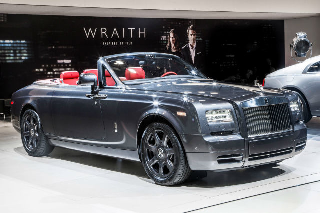 New Rolls Royce Phantom 2016