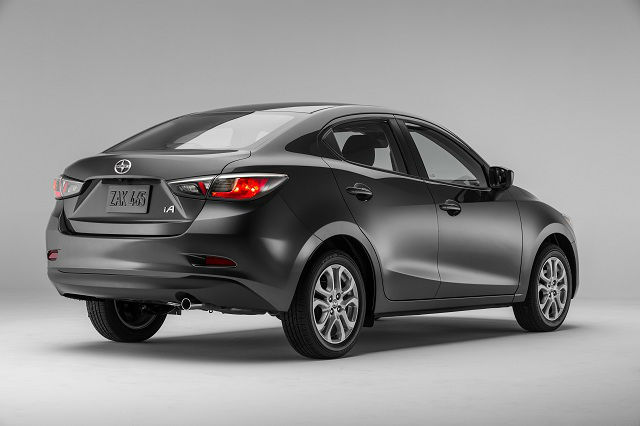 2017 Scion iA Black