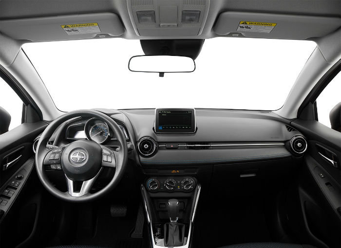 2017 Scion iA Interior
