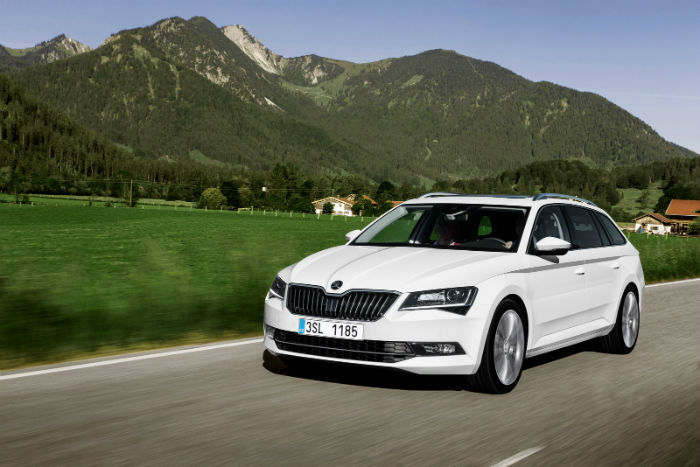 2017 Skoda Superb Wagon