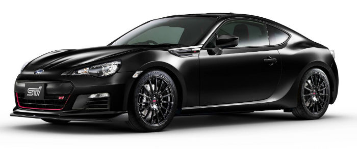 2017 Subaru BZR Limited Black