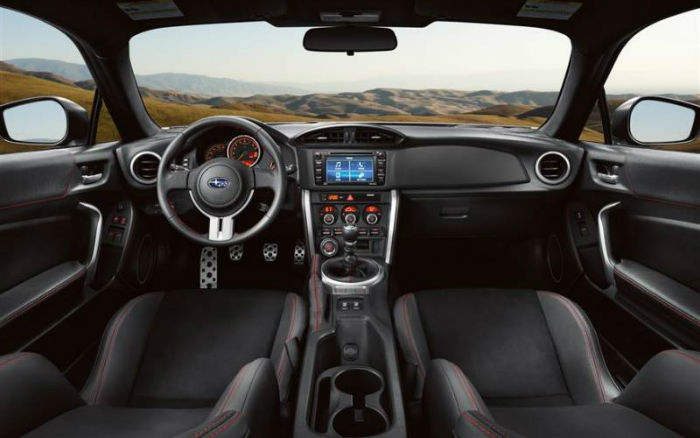 2017 Subaru BZR Limited Interior