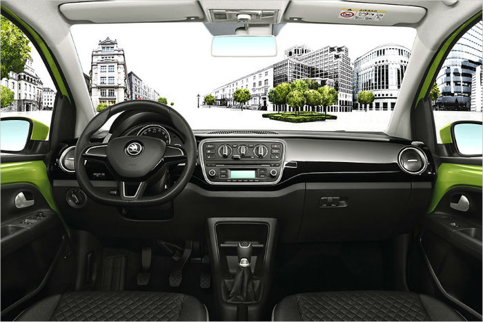 Skoda Citigo 2017 Interior