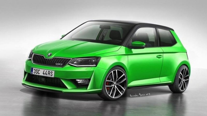 2017 skoda fabia vrs cars magazine. Black Bedroom Furniture Sets. Home Design Ideas