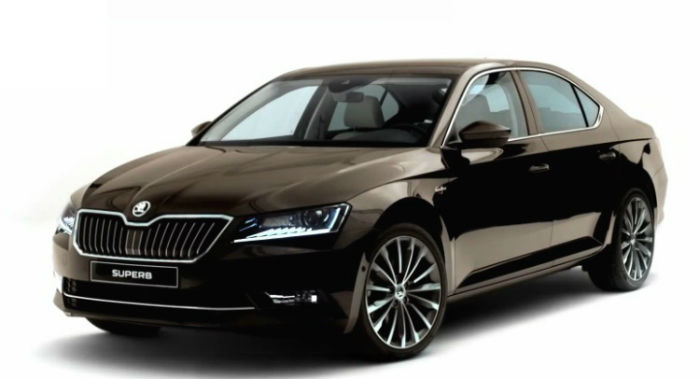 Skoda Superb 2017 Black