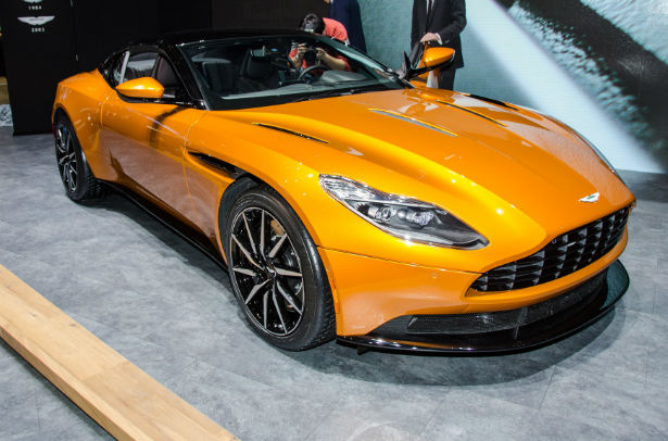 2017 aston martin db11 convertible. Cars Review. Best American Auto & Cars Review