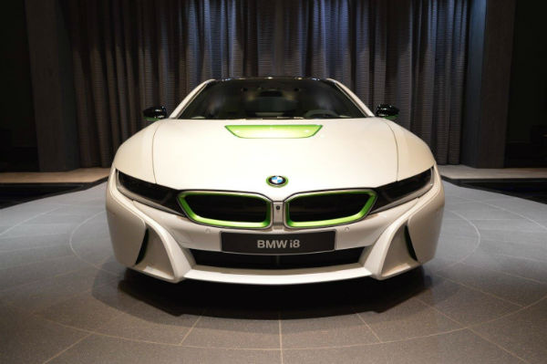 2017 BMW i8 Facelift