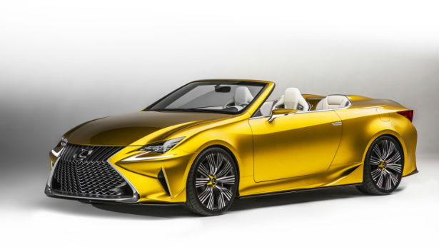 2017 Lexus RC Convertible