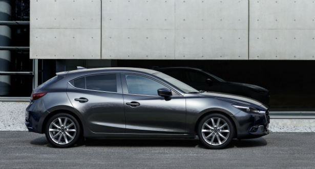 2017 Mazda 3 Sedan Machine Grey
