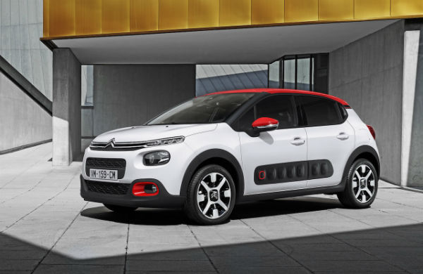 2017 Citroen C4 Cactus Model