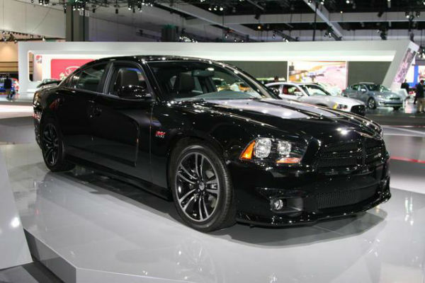 2017 Dodge Charger Hellcat Black