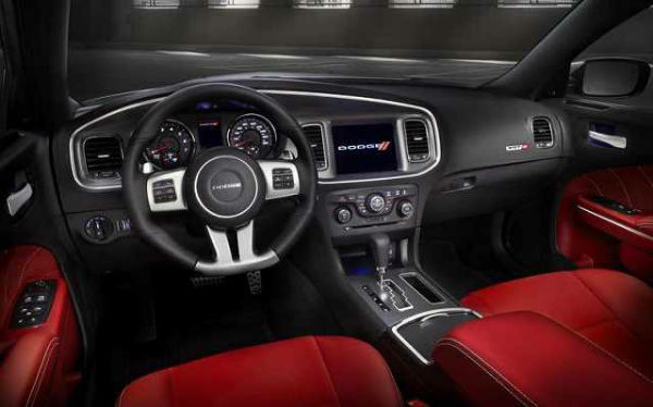 2017 Dodge Charger Hellcat Interior