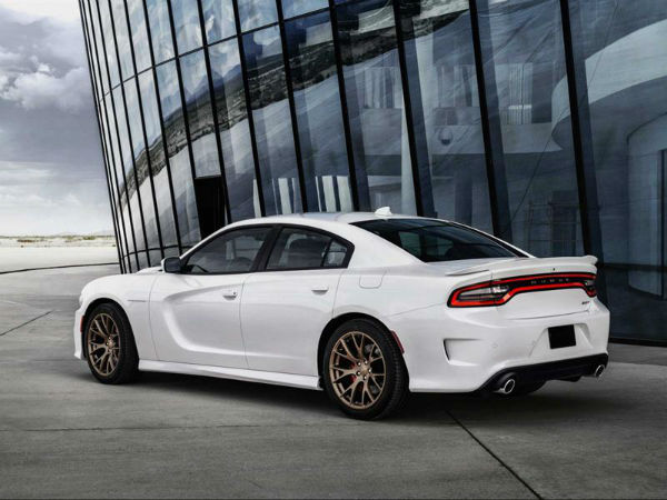 2017 Dodge Charger Hellcat White