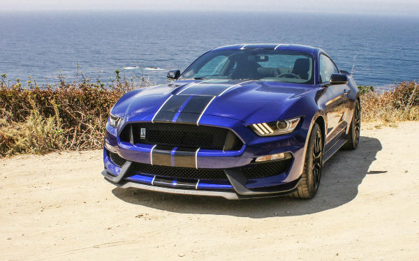 2017 Ford Mustang gt350 Blue