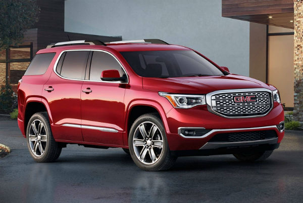 2017 gmc acadia cars magazine. Black Bedroom Furniture Sets. Home Design Ideas