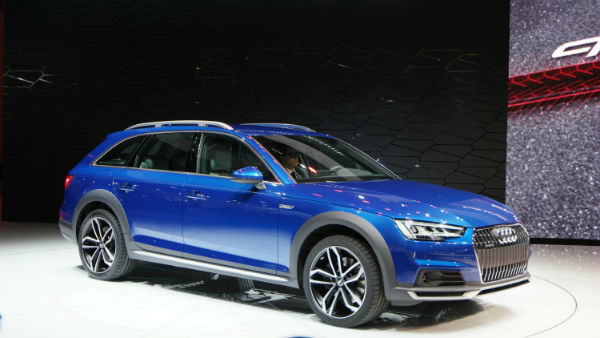 2017 Audi Allroad Blue