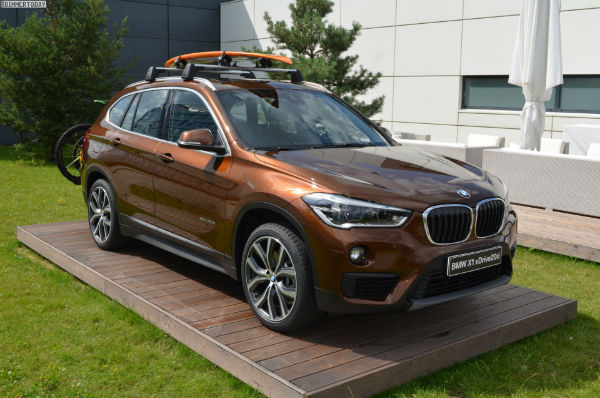 BMW X1 2017 Colors