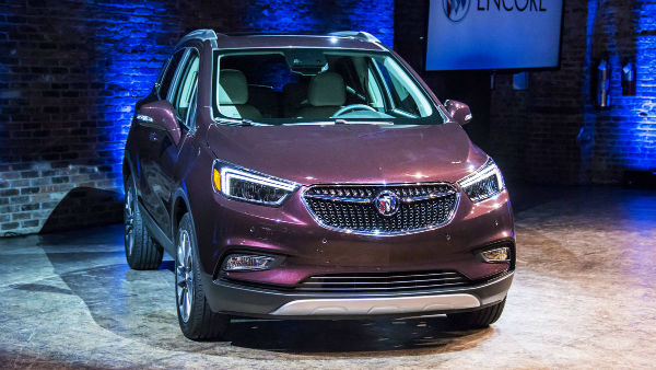 2017 Buick Encore Colors
