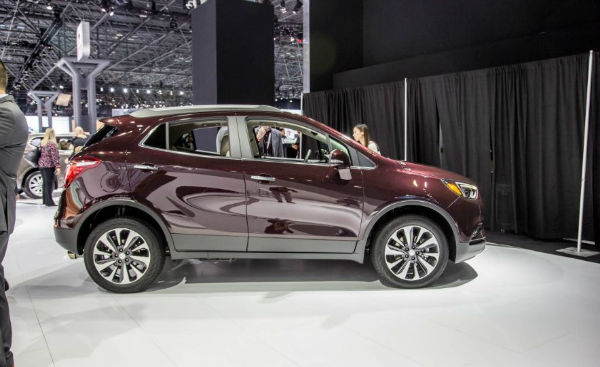 2017 Buick Encore Length