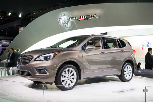 2017 Buick Envision Colors