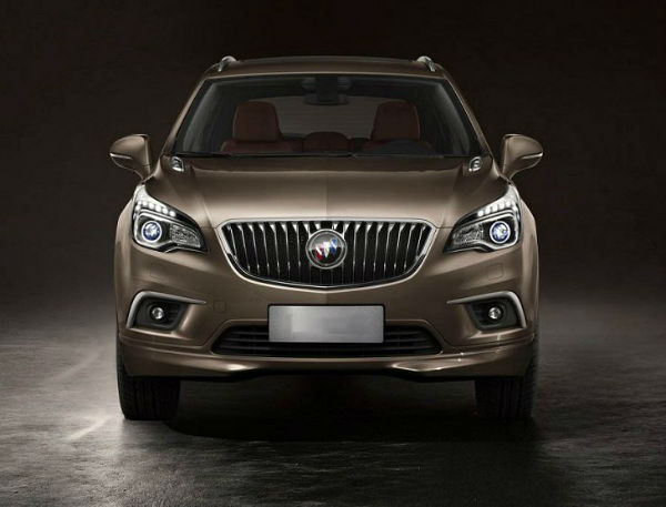 2017 Buick Envision Dimensions