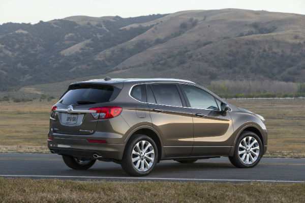 2017 Buick Envision MSRP