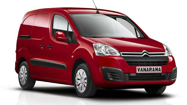2017 Citroen Berlingo Van