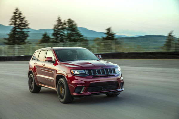 2018 Jeep Grand Cherokee SRT2018 Jeep Grand Cherokee SRT
