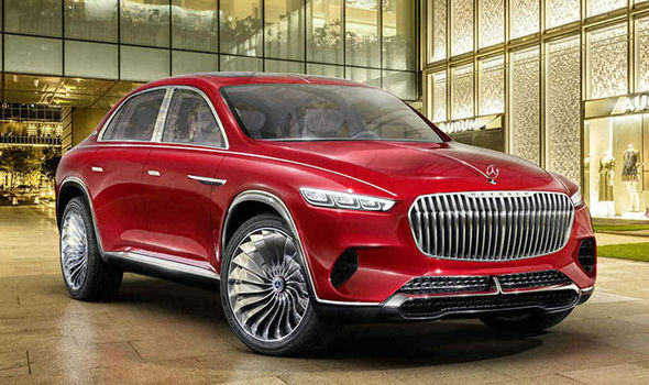 2019 Mercedes Maybach SUV