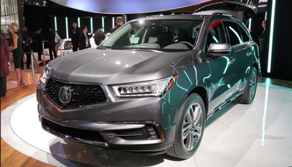 2019 Acura MDX Changes
