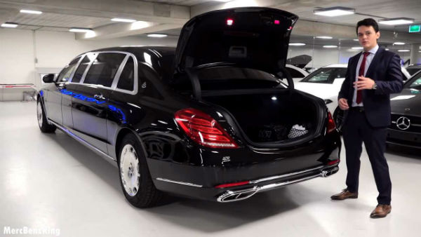 2019 Mercedes Maybach S600 Pullman Guard