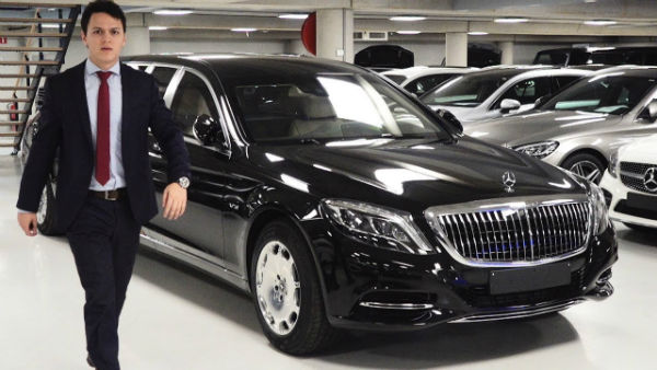 Mercedes S600 Maybach 2019